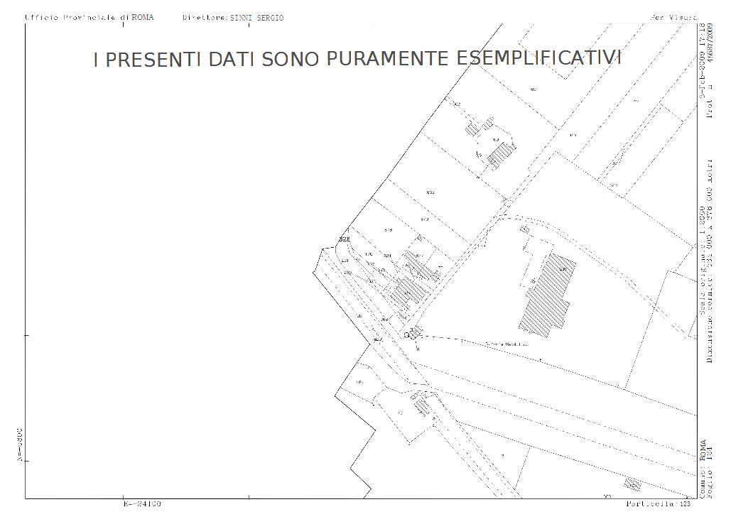 Estratto Mappa Catastale Online